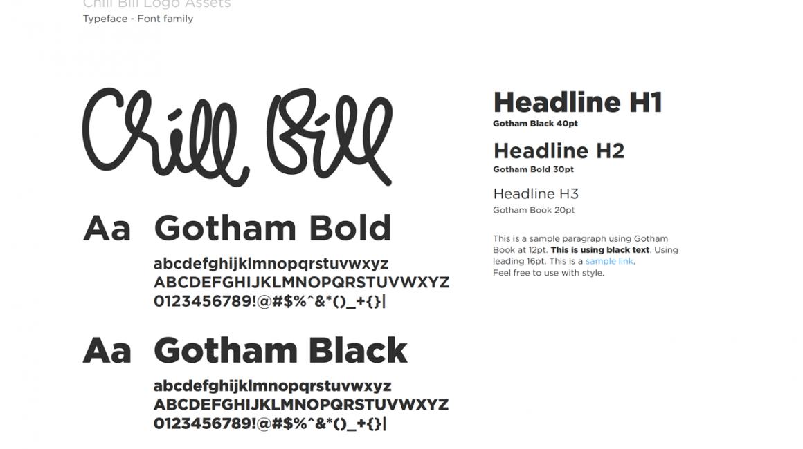 Logo Desain Chill Bill