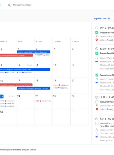 Website Aplikasi OnTime Meeting